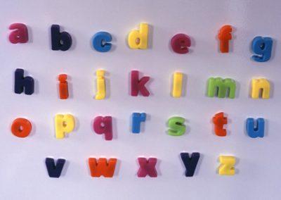 fridge letters alphabet