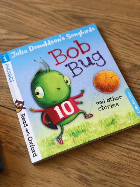 Get your child reading with 3 of the best read at home books.